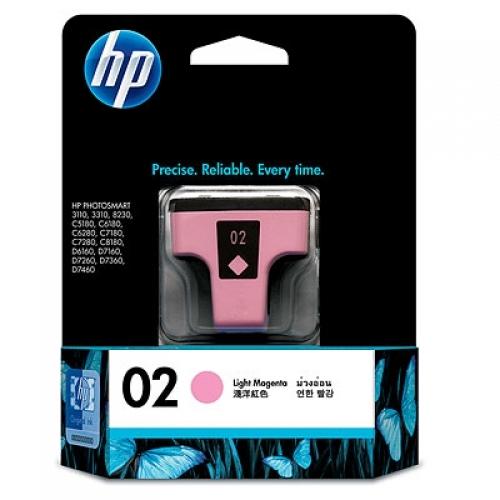HP 02 Light Ink Cartridge - Magenta