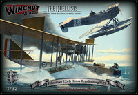 "Wingnut Wings 1/32 Felixstowe F.2a & Hansa-Brandenburg W.29 ""The Duellists"" Model kit"