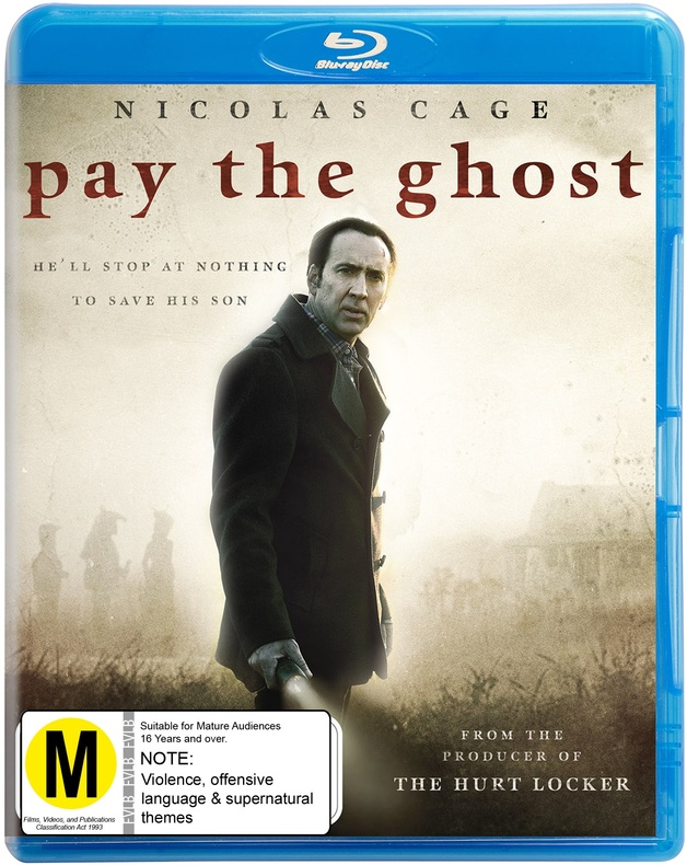 Pay the Ghost on Blu-ray