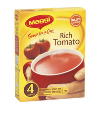 MAGGI Soup for a Cup Instant Soup - Rich Tomato (78g)