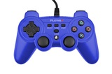 Playmax Wired Controller (Blue) for PS3