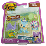 Animal Jam: Lucky Lynx Figure With Light-up Ring