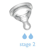 B.Box: Anti Colic Teats - Stage 2 (2 Pack)