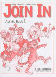 Join In Activity Book 1 by Gunter Gerngross image