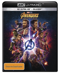 Avengers: Infinity War on UHD Blu-ray