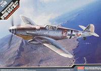 Academy 1/48 Messerschmitt BF109G-6/G-2 - Scale Model