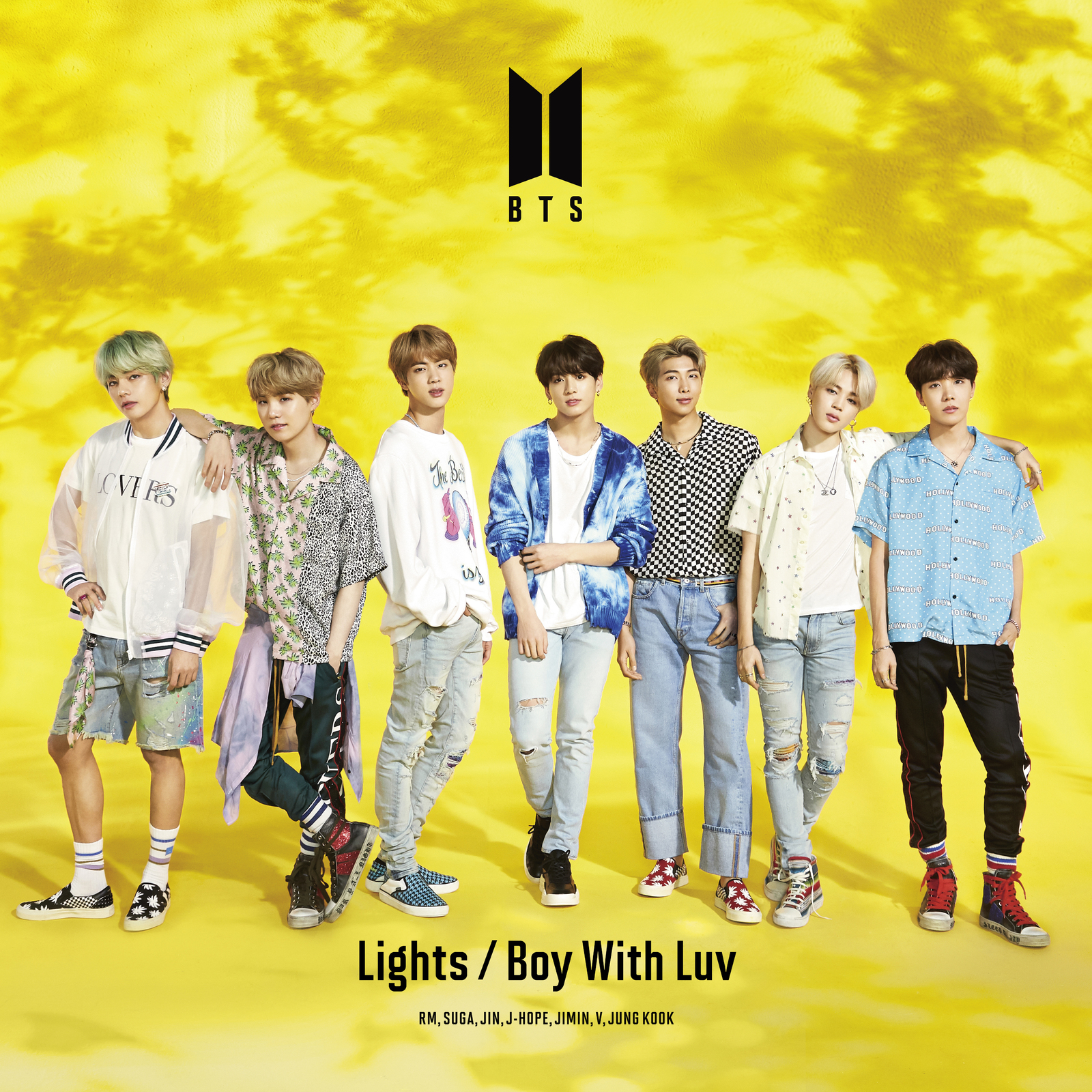 Lights / Boy With Luv - Limited Edition (A) by BTS image