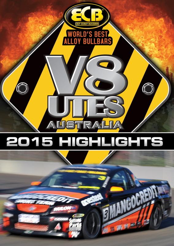 Australian V8 Utes Racing Series 2015 Highlights on