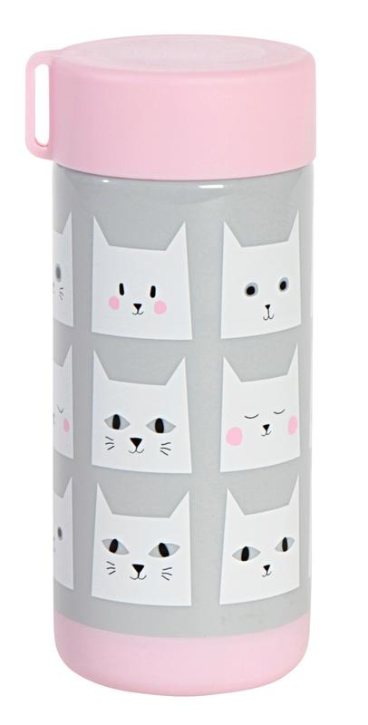 Kitsch Kitchen: Drinking Bottle - Cats