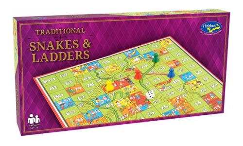 Snakes & Ladders: Traditional Board Game image