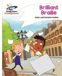 Reading Planet - Brilliant Braille - White: Comet Street Kids by Adam Guillain image