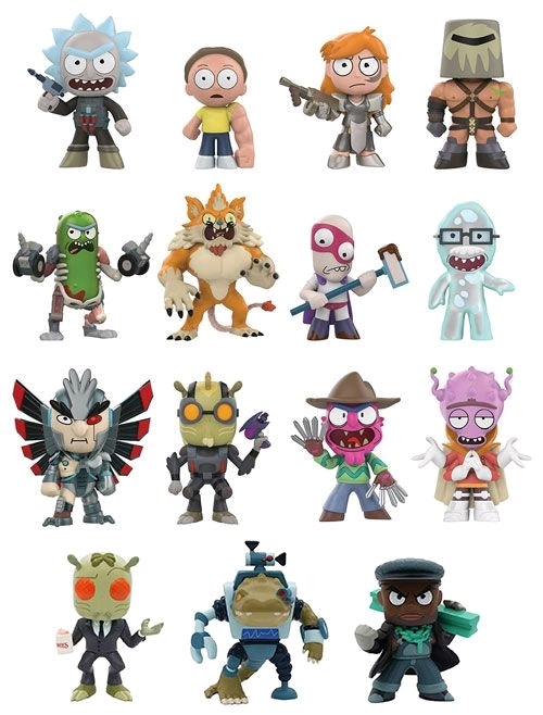 Rick and Morty: Series 2 - Mystery Minis Figure [Hot Topic] (Blind Box) image