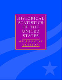The Historical Statistics of the United States 5 Volume Hardback Set