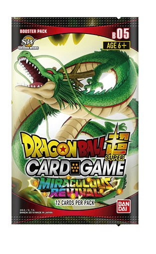 Dragon Ball Super TCG: Miraculous Revival Single Booster image