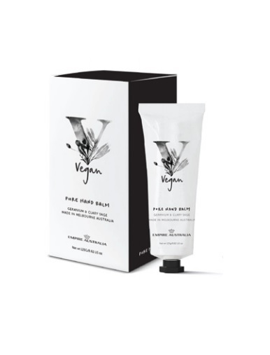 Empire Vegan: Geranium & Clary Sage Hand Cream
