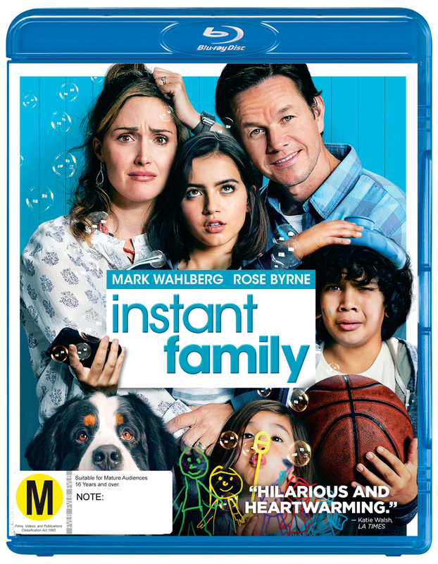 Instant Family on Blu-ray