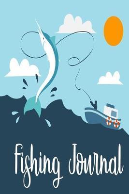 Fishing Journal by Deep Senses Designs