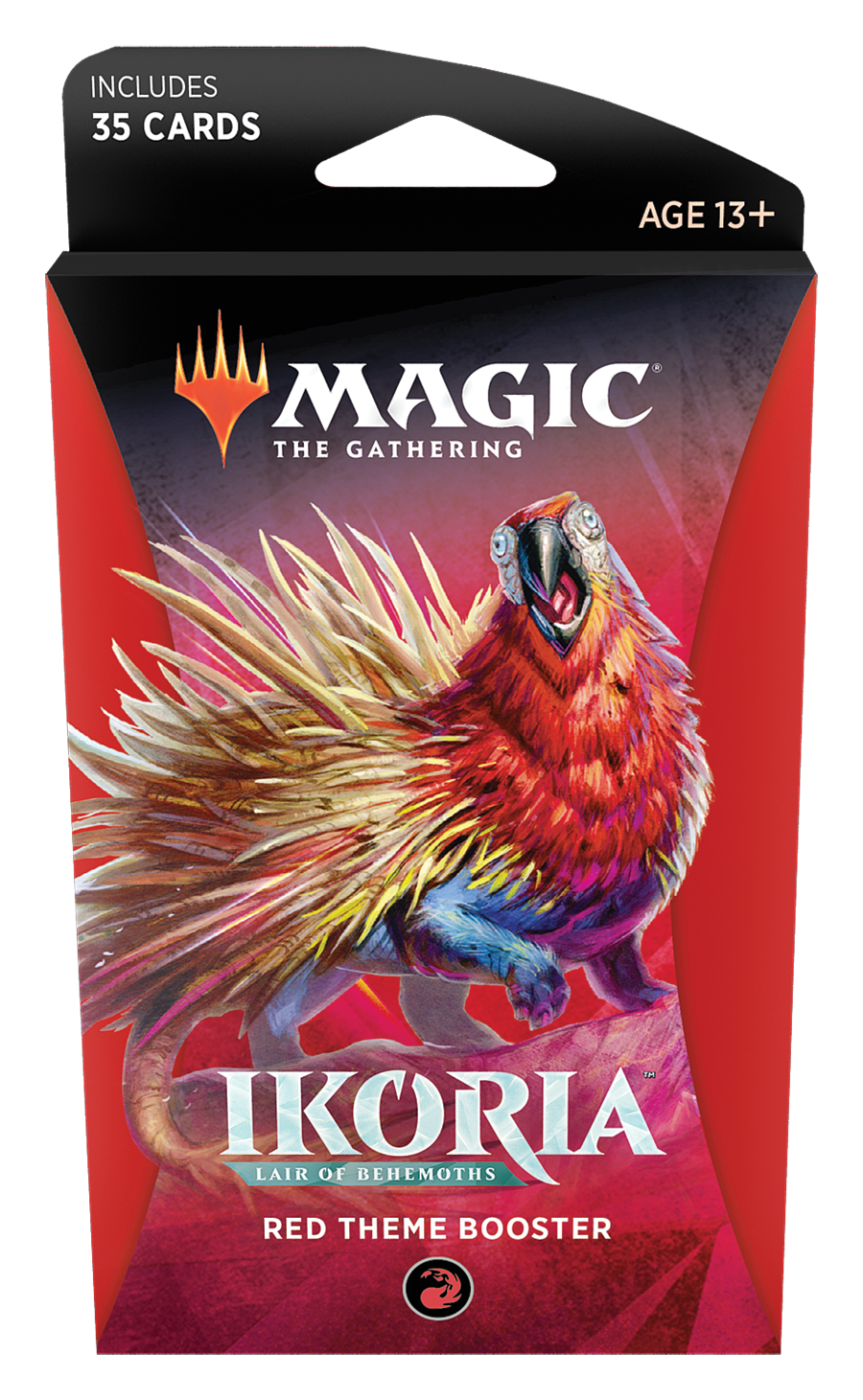 Magic the Gathering: Ikoria: Lair of Behemoths - Theme Booster Red image