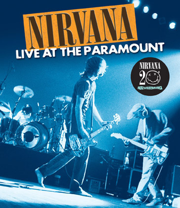Nirvana - Live At The Paramount [20th Anniversary] on Blu-ray