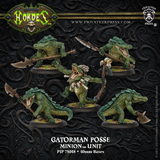 Hordes: Minions Gatormen Posse Unit (Plastic)