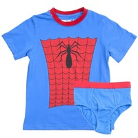 Marvel: Spiderman Underoos Set - (XS)