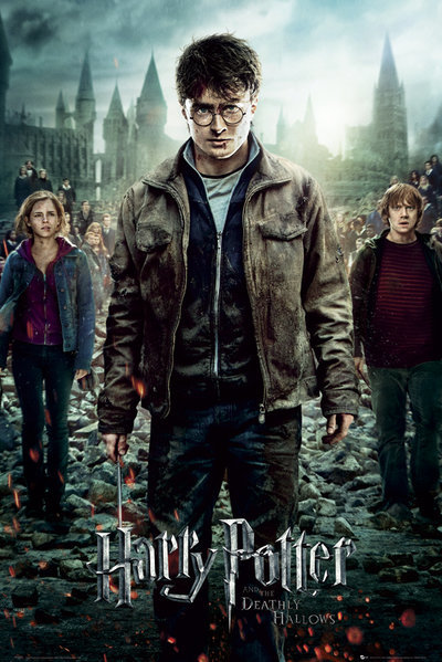 Harry Potter Maxi Poster - Deadly Hallows 2 (517)