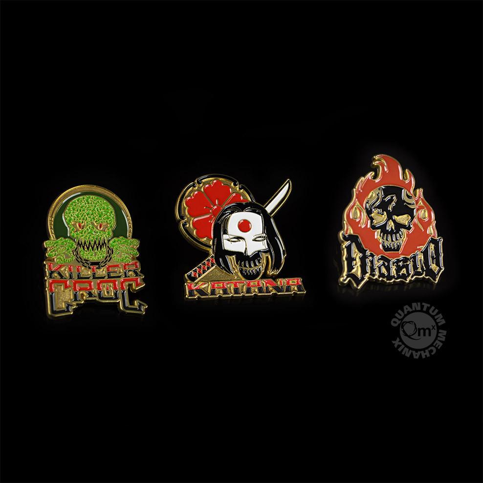 Suicide Squad Lapel Pins — Set 2 image