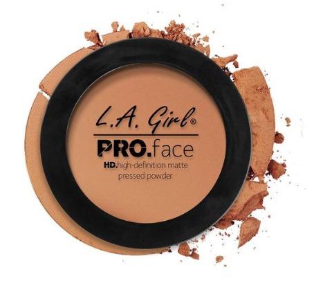 LA Girl HD Pro Face Powder - Warm Caramel image