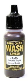 Vallejo 200 Sepia Wash 17ml