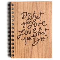 Cardtorial Wooden Journal - Do What You Love image
