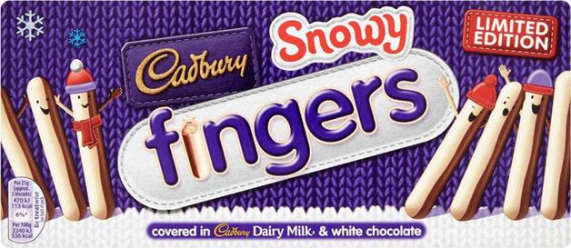Cadbury Snowy Fingers (115g)