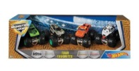 Hot Wheels: Monster Jam - Tour Favourites 4-Pack (Gas Monkey & Co.)