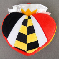 Disney Villains: Plush Icon Pouch - Queen of Heart #2