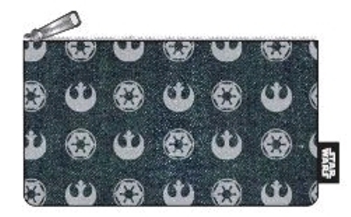 Loungefly: Star Wars - Emblems Print Pencil Case