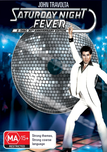 Saturday Night Fever - 30th Anniversary Edition (2 Disc Set) on DVD