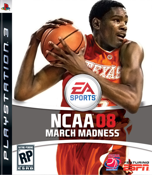 NCAA March Madness 08 for PS3
