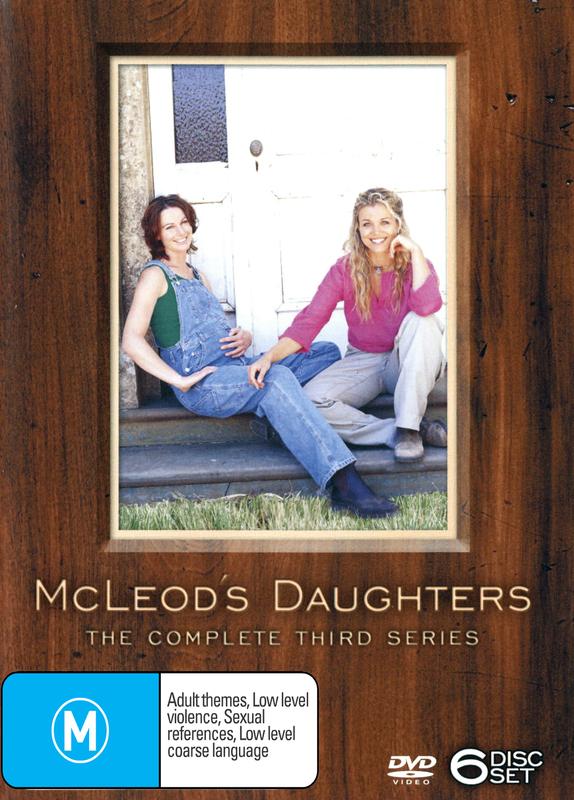 McLeod's Daughters - Complete Season 3 (6 Disc Box Set) on DVD