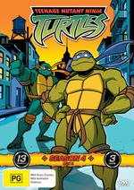 Teenage Mutant Ninja Turtles (2003) - Season 4: Box 2 (3 Disc Box Set) on DVD