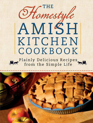 The Homestyle Amish Kitchen Cookbook by Georgia Varozza image