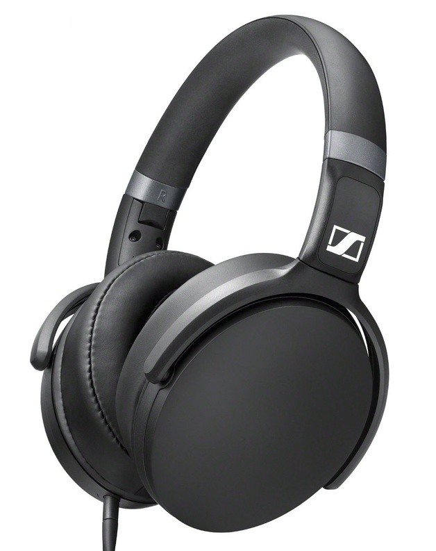 Sennheiser HD 4.30i Over-Ear Headphones with Mic (Black)