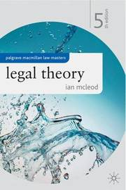 Legal Theory by Ian McLeod image