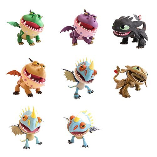 How to Train Your Dragon: Wave 2 - Action Vinyl Figure (Assorted)