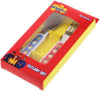 The Wiggles: 2 Piece Cutlery Set image
