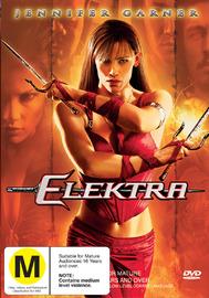 Elektra on DVD image