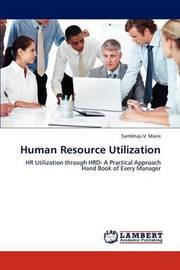 Human Resource Utilization by Mane Sambhaji
