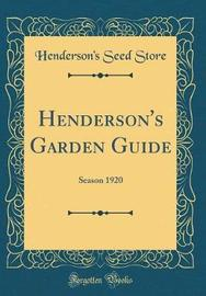 Henderson's Garden Guide by Henderson's Seed Store image