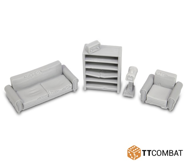 TTCombat: Tabletop Scenics - Lounge Accessories