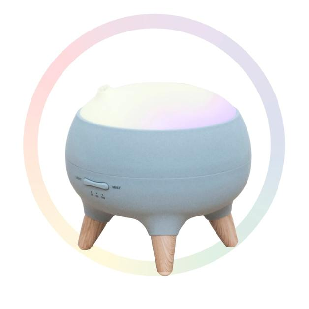Activiva: Aroma Therapy Diffuser With RGB Colour Changing Light