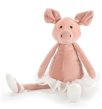 Jellycat: Dancing Darcey Piglet - Medium Plush