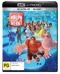 Ralph Breaks The Internet (UHD/Blu-ray) on UHD Blu-ray
